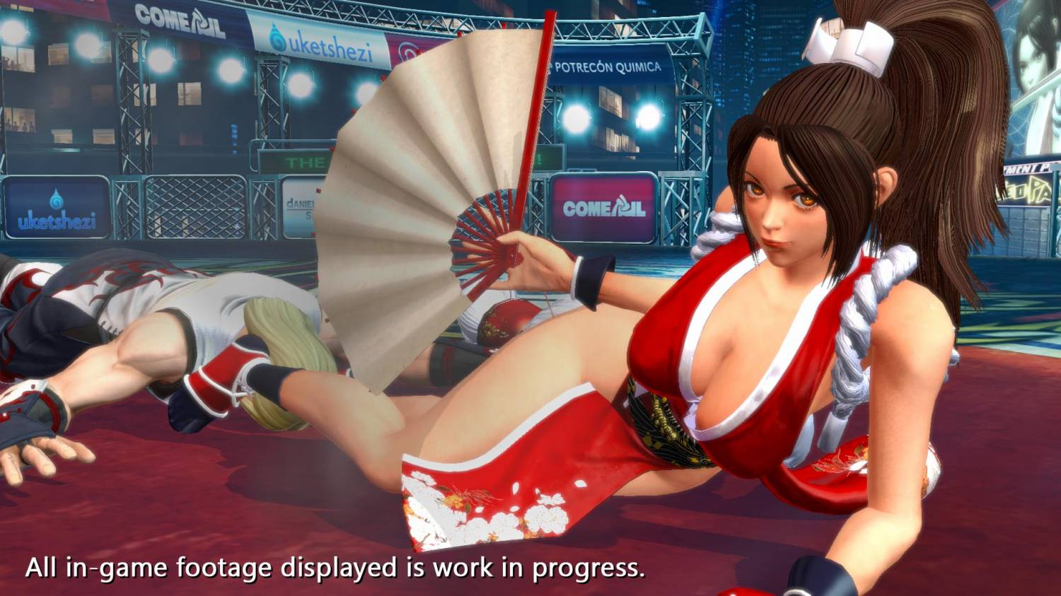 THE KING OF FIGHTERS XIV - Stream 25/04 with Mai gameplay